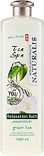 Fragrances, Perfumes, Cosmetics Bath Oil Foam - Naturalis Tea Spa Relaxation Bath