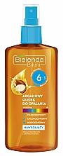 Fragrances, Perfumes, Cosmetics Argan Oil for Tan SPF6 - Bielenda Bikini Argan SunTan Oil