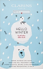 Fragrances, Perfumes, Cosmetics Set - Clarins Hello Winter (h/cr/30ml + lip/balm/15ml)