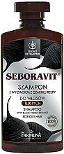 "Fragrances, Perfumes, Cosmetics Oily Hair Shampoo ""Seboravit"" - Farmona Seboravit Shampoo"