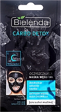 Fragrances, Perfumes, Cosmetics Charcoal Cleansing Mask for Dry Skin - Bielenda Carbo Detox Cleansing Mask Dry and Sensitive Skin