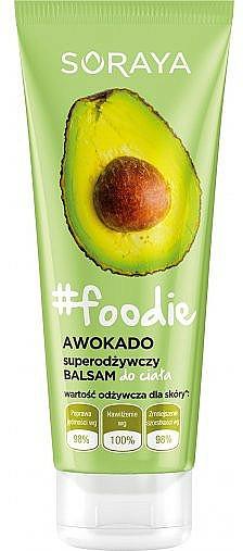 "Nourishing Body Balm ""Avocado"" - Soraya Foodie"