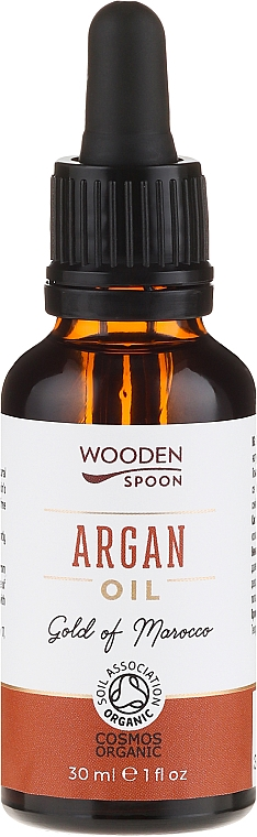 Argan Oil - Wooden Spoon 100% Pure Argan Oil
