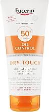 Fragrances, Perfumes, Cosmetics Mattifying Ultra Lght Sun Gel Cream - Eucerin Oil Control Dry Touch Sun Gel-Cream SPF50+