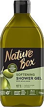 Fragrances, Perfumes, Cosmetics Cold Pressed Olive Oil Shower Gel - Nature Box Softening Shower Gel With Cold Pressed Olive Oil