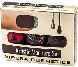 Fragrances, Perfumes, Cosmetics Nail Polish Set - Vipera Set Artistic Manicure (n/pol/5,5mlx3)