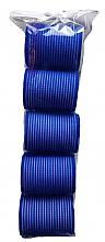 Fragrances, Perfumes, Cosmetics Velcro Curlers 498788, 48 mm, Blue - Inter-Vion