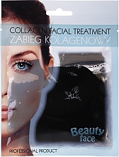 Fragrances, Perfumes, Cosmetics Collagen Treatment with Chocolate - Beauty Face Collagen Hydrogel Mask