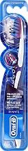 Fragrances, Perfumes, Cosmetics Toothbrush, purple - Oral-B Proflex 3D White Luxe 38 Medium
