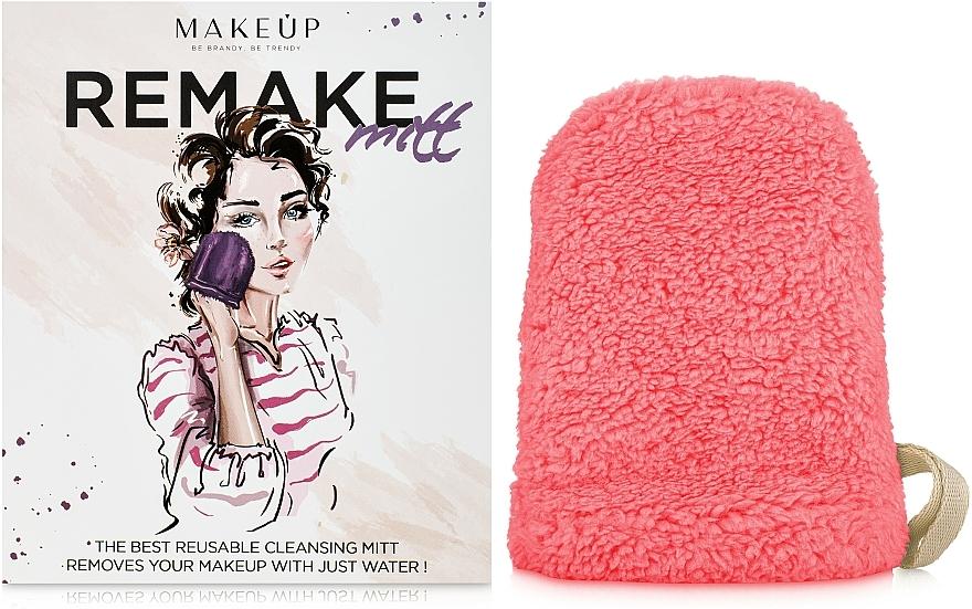 "Makeup Remover Glove ""ReMake"", coral - MakeUp"