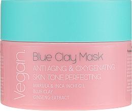 Fragrances, Perfumes, Cosmetics Blue Clay Mask - Nacomi Blue Clay Mask Anti-Aging