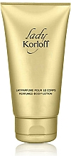 Fragrances, Perfumes, Cosmetics Korloff Paris Lady Korloff - Body Lotion