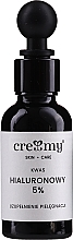 Fragrances, Perfumes, Cosmetics Hyaluronic Acid 5% - Creamy