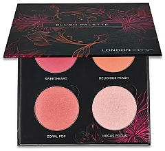Fragrances, Perfumes, Cosmetics Blush Palette - London Copyright Magnetic Face Powder Blush Palette