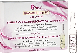 Fragrances, Perfumes, Cosmetics Face Serum - Ava Laboratorium Home SPA With Hyaluronic Acid & Vitamin PP Serum