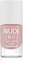 Fragrances, Perfumes, Cosmetics Nail Polish - Ados Nude 6in1 Nail Polish With Conditioner