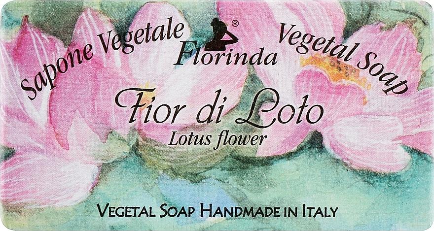 """Natural Soap """"Lotus Flower"""" - Florinda Sapone Vegetale Vegetal Soap Lotus Flower"""