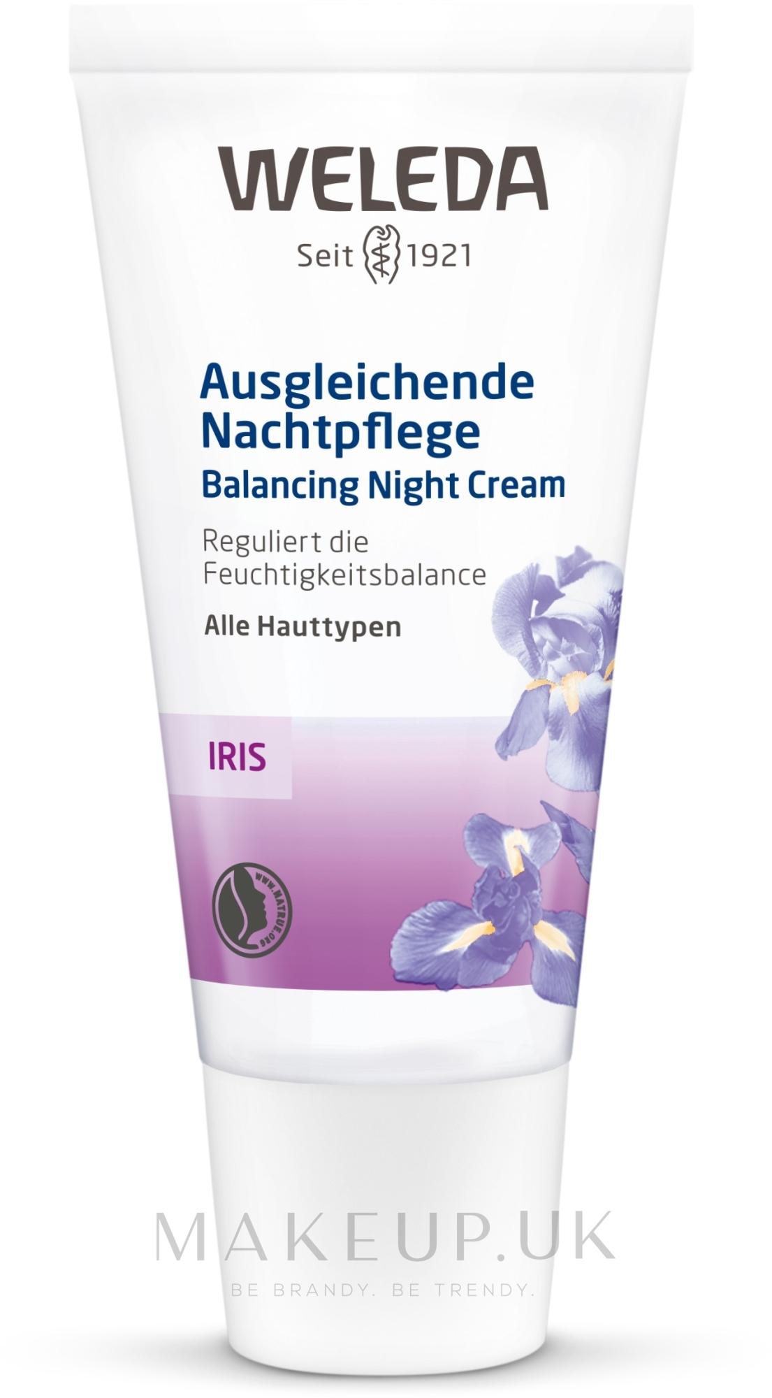 Iris Night Cream - Weleda Iris Nachtcreme — photo 30 ml