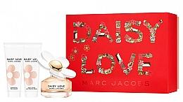 Fragrances, Perfumes, Cosmetics Marc Jacobs Daisy Love - Set (edt/50ml + sh/gel/75ml + b/milk/75ml)
