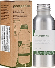 Fragrances, Perfumes, Cosmetics Mouthwash - Georganics Tea Tree Mouthwash