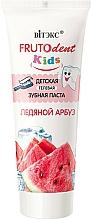"Fragrances, Perfumes, Cosmetics Fluoride-free Kid's Gel Toothpaste ""Ice Watermelon"" - Vitex Frutodent Kids"