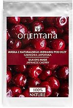 "Fragrances, Perfumes, Cosmetics Eye Mask ""Japanese Cherry"" - Orientana Eye Silk Pad Japanese Cherry"