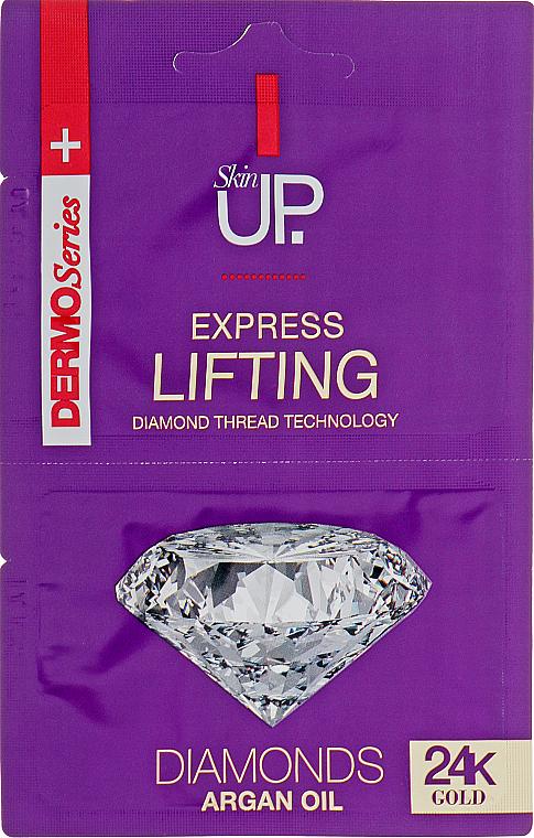 Lifting Facial Express Mask with 24K Gold & Diamonds - Verona Laboratories DermoSerier Skin Up Express Lifting Diamonds 24k Gold