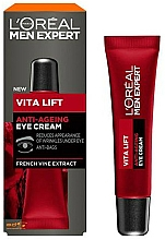 Fragrances, Perfumes, Cosmetics Anti-Aging Eye Cream - L'Oreal Paris Men Expert Vita Lift Anti-Ageing Eye Cream
