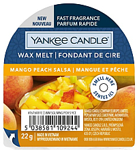 Fragrances, Perfumes, Cosmetics Aromatic Wax - Yankee Candle Wax Melt Mango Peach Salsa