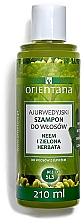 Fragrances, Perfumes, Cosmetics Anti-Dandruff Shampoo - Orientana Ayurvedic Shampoo Neem & Green Tea
