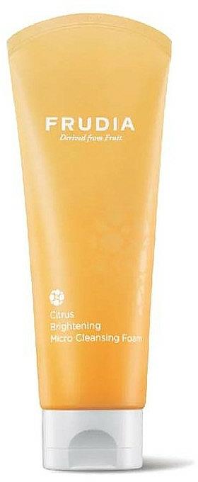 Brightening Citrus Face Foam - Frudia Brightening Citrus Micro Cleansing Foam