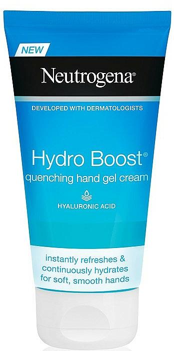 Hand Cream - Neutrogena Hydro Boost Quenching Hand Gel Cream