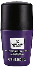 Fragrances, Perfumes, Cosmetics The Body Shop White Musk For Men - Roll-On Deodorant