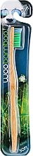 Fragrances, Perfumes, Cosmetics Toothbrush, Soft, green - Woobamboo Adult Standard Handle Toothbrush Soft