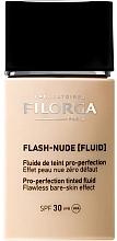 Fragrances, Perfumes, Cosmetics Foundation Fluid - Filorga Flash Nude SPF 30