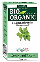 Fragrances, Perfumes, Cosmetics Strengthening Brahmi Leaf Powder for Weak & Brittle Hair - Indus Valley Bio Organic
