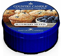 Fragrances, Perfumes, Cosmetics Tea Light Candle - Country Candle Blueberry Muffin Daylight