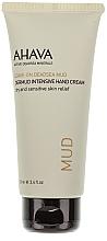 Fragrances, Perfumes, Cosmetics Nourishing Hand Cream - Ahava Dermud Hang Cream Dry & Sensitive Relief