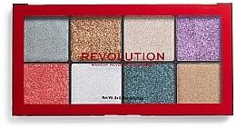 Fragrances, Perfumes, Cosmetics Glitter Palette - Makeup Revolution Halloween 2019 Pressed Glitter Palette