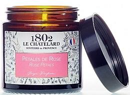 Fragrances, Perfumes, Cosmetics Precious Petals Scented Candle - Le Chatelard 1802 Rose Petals Scented Candle