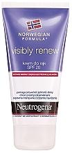 "Fragrances, Perfumes, Cosmetics Hand Cream ""Elacticity Restoring"" SPF20 - Neutrogena Visibly Renew Hand Cream"