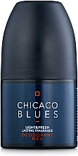 Fragrances, Perfumes, Cosmetics Vittorio Bellucci Chicago Blues - Perfumed Roll-On Deodorant