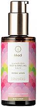 Fragrances, Perfumes, Cosmetics Ayurvedic Elixir Body Oil - Khadi Ayurvedic Elixir Skin & Soul Oil Rose Love