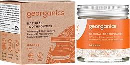 Fragrances, Perfumes, Cosmetics Natural Toothpowder - Georganics Red Mandarin Natural Toothpowder