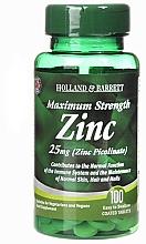 "Fragrances, Perfumes, Cosmetics Dietary Supplement ""Zinc"" - Holland & Barrett Maximum Strength 25mg Zinc Picolinate"