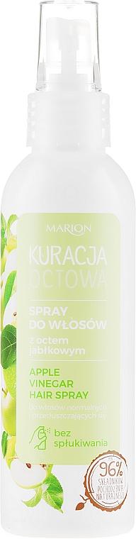 Apple Vinegar Hair Spray for Normal & Oily Hair - Marion Apple Vinegar Hair Spray