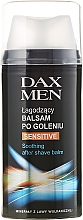 Fragrances, Perfumes, Cosmetics Shaving Balm for Sensitive Skin - Dax Men Sensitive Soothing After Shave Balm