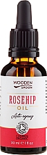 Fragrances, Perfumes, Cosmetics Rosehip Oil - Wooden Spoon Rosehip Oil