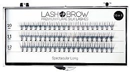 Fragrances, Perfumes, Cosmetics False Lashes - Lash Brown Premium Flare Silk Lashes Spectacular Long