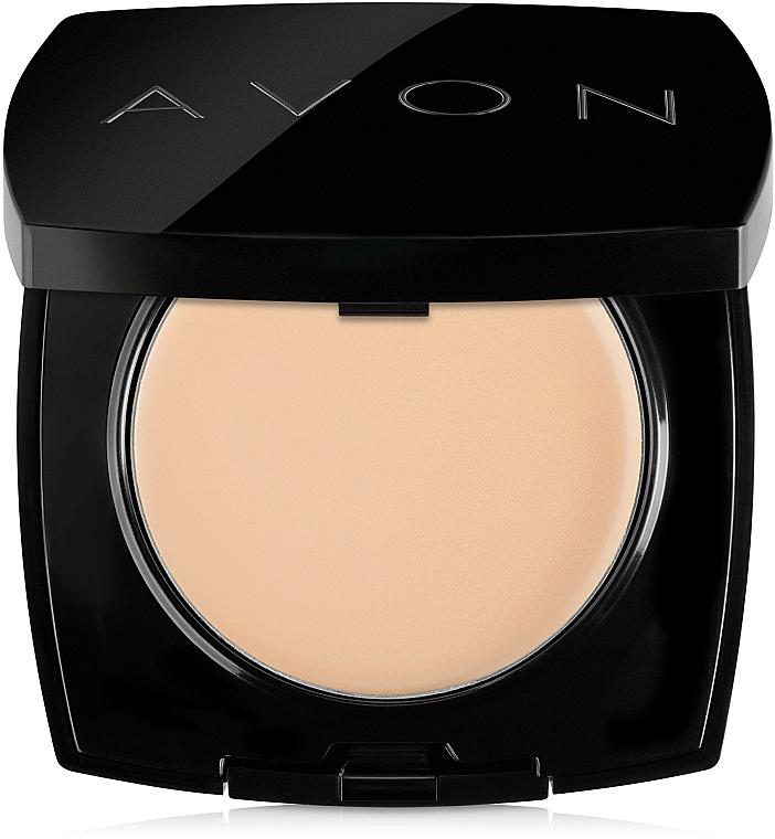 Face Compact Cream Powder - Avon True Cream-Powder Compact